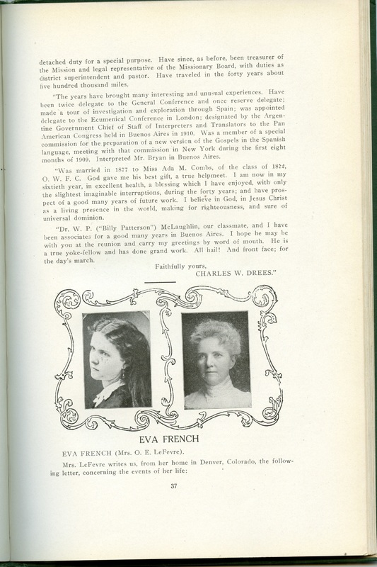 The Souvenir of Forty Years (p. 35)