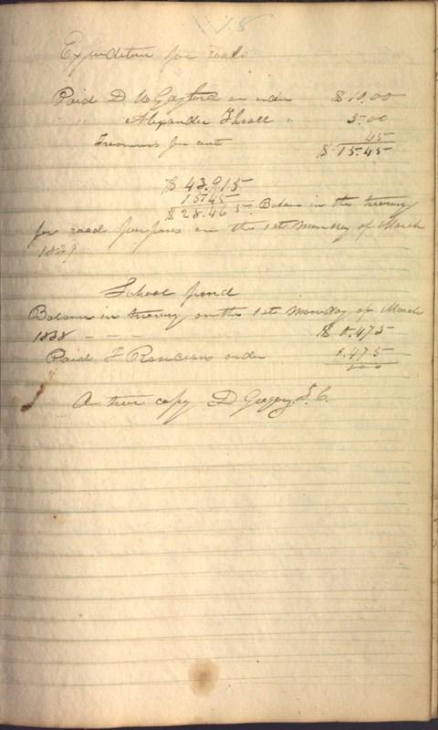 Record Book of Berkshire Township No. 2 1807-1843 (p. 91)