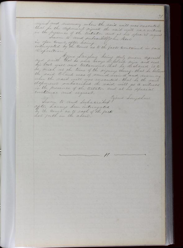 Delaware County Ohio Will Records Vol. 1 1812-1835 (p. 105)