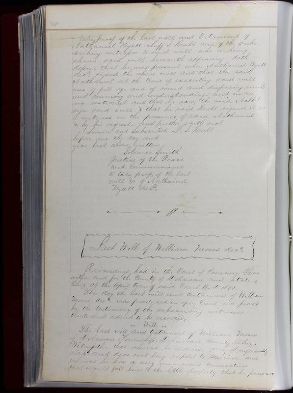Delaware County Ohio Will Records Vol. 1 1812-1835 (p. 140)