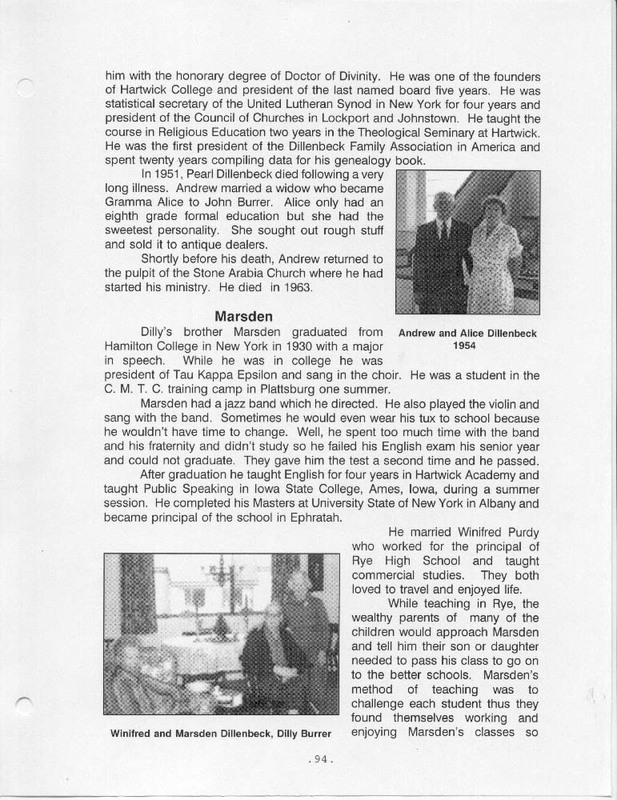 Flashback: A Story of Two Families (p. 103)