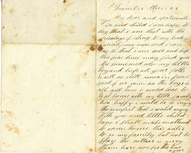 Mitchell Family Civil War Letters (p. 21)