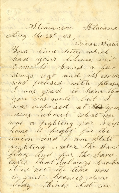 Mitchell Family Civil War Letters (p. 44)