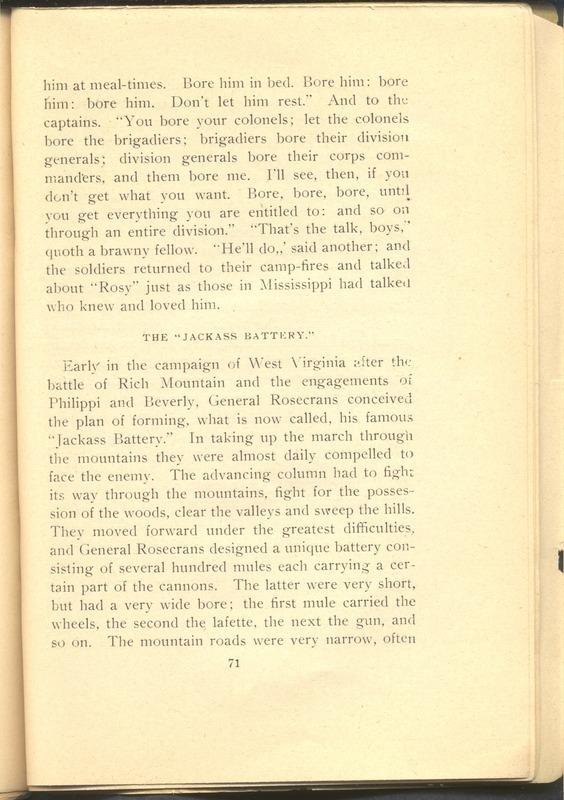 Major-General William Stark Rosecrans (p. 75)