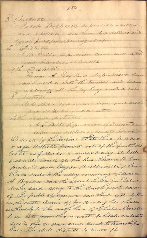 Record Book of Berkshire Township No. 2 1807-1843 (p. 170)