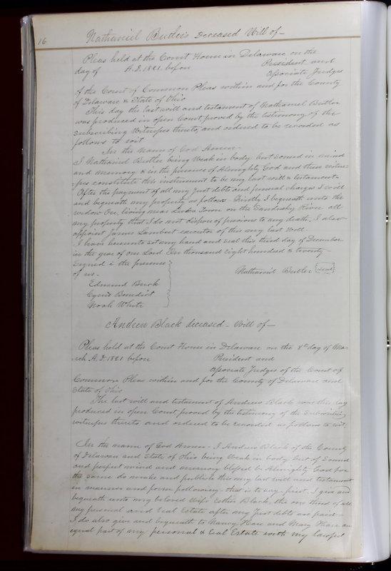 Delaware County Ohio Will Records Vol. 1 1812-1835 (p. 48)