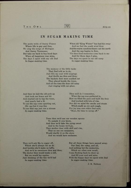 The Owl, Vol. II, 1922 (p.33)