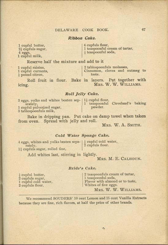 Delaware Cook Book (p. 72)