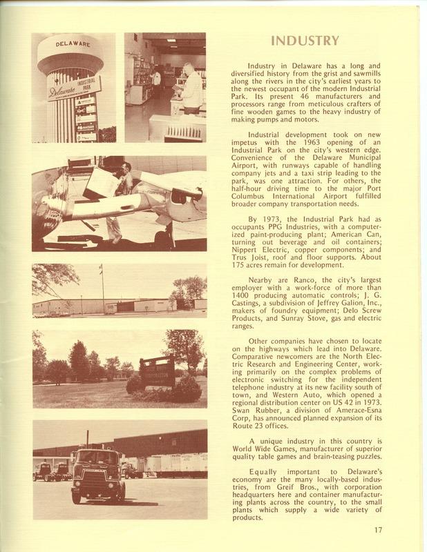 Welcome to Delaware, Ohio (1973) (p. 19)