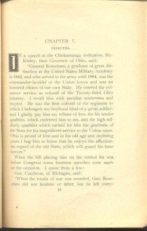 Major-General William Stark Rosecrans (p. 59)