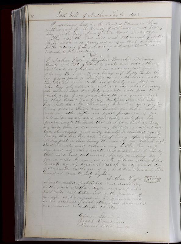 Delaware County Ohio Will Records Vol. 1 1812-1835 (p. 130)