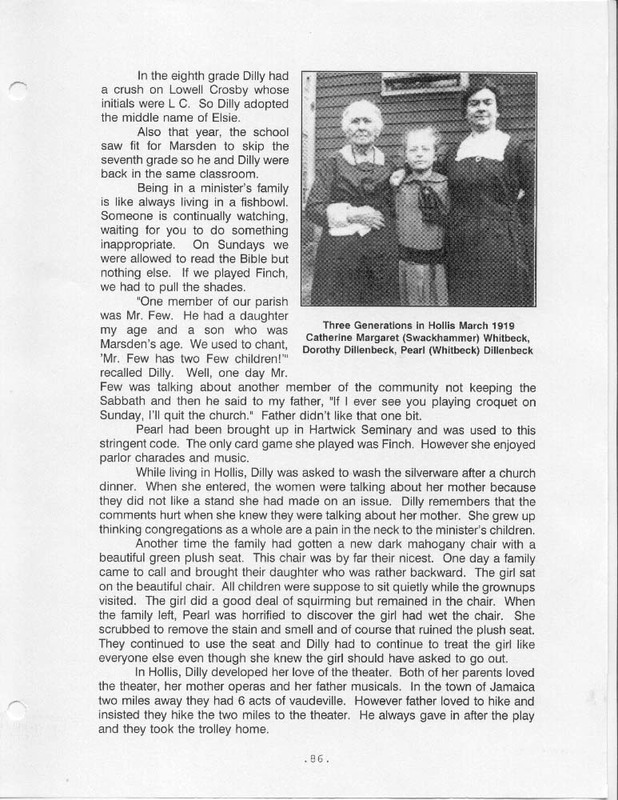 Flashback: A Story of Two Families (p. 95)