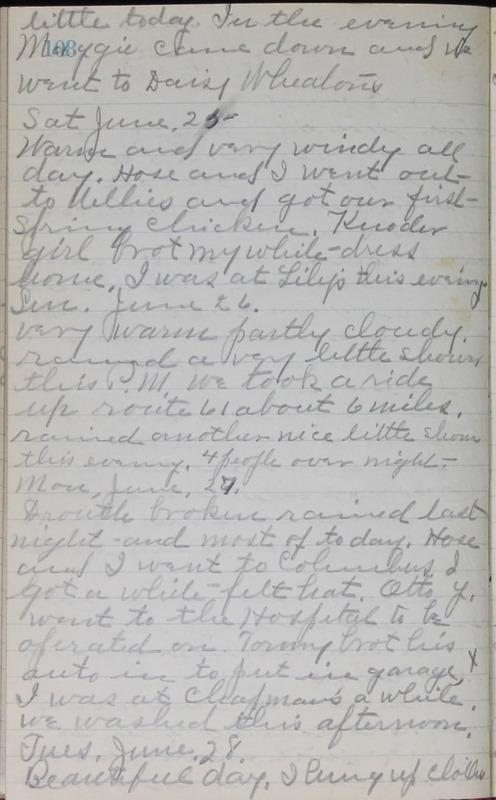 Roberta Hopkins' Journal, 1931-1933 (p. 111)