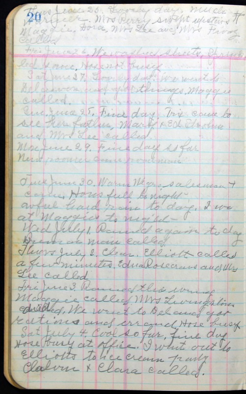 Roberta Hopkins' Journal 1941-1943 (p. 34)