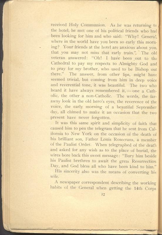 Major-General William Stark Rosecrans (p. 56)