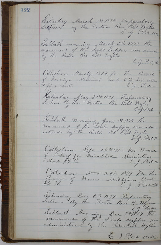 Sessional Records of the 1st Presbyterian Church of Trenton Delaware County Ohio 1873-1937 (p. 114)