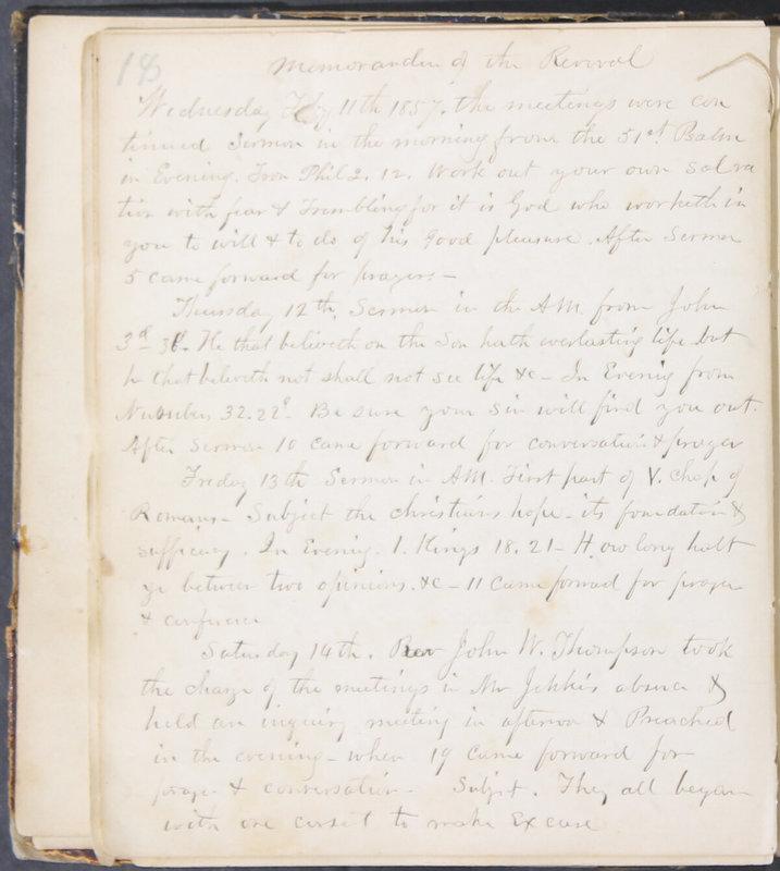 Sessional Records of the 1st Presbyterian Church of Trenton, Delaware Co., Ohio, 1831 (p. 24)