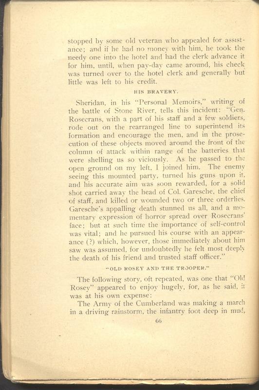 Major-General William Stark Rosecrans (p. 70)