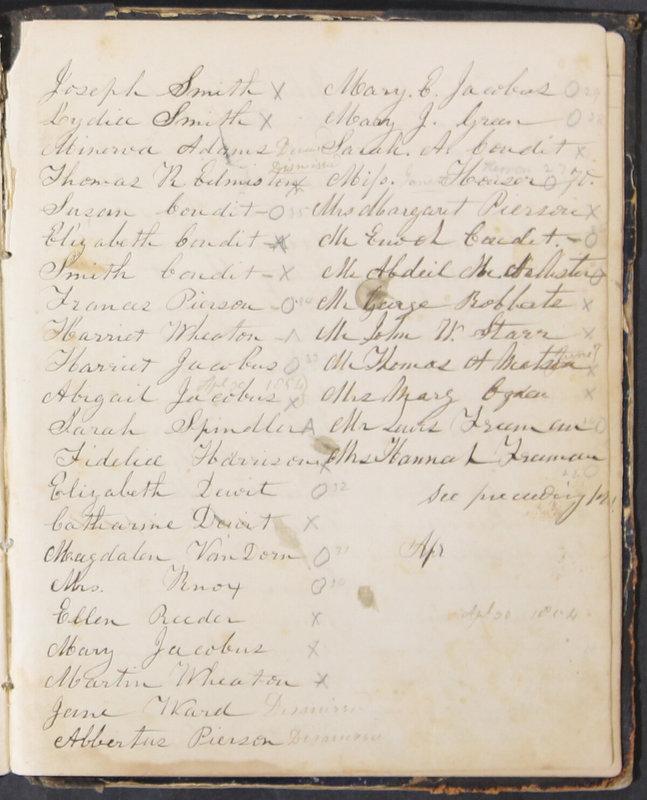 Sessional Records of the 1st Presbyterian Church of Trenton, Delaware Co., Ohio, 1831 (p. 127)
