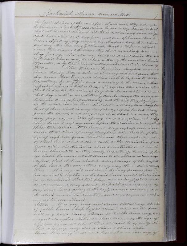 Delaware County Ohio Will Records Vol. 1 1812-1835 (p. 39)