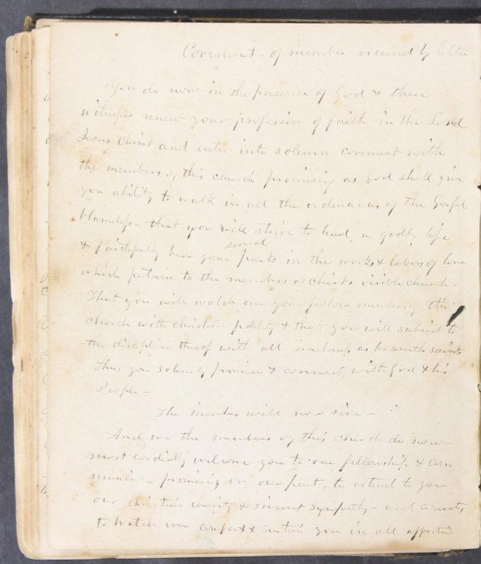 Sessional Records of the 1st Presbyterian Church of Trenton, Delaware Co., Ohio, 1831 (p. 130)