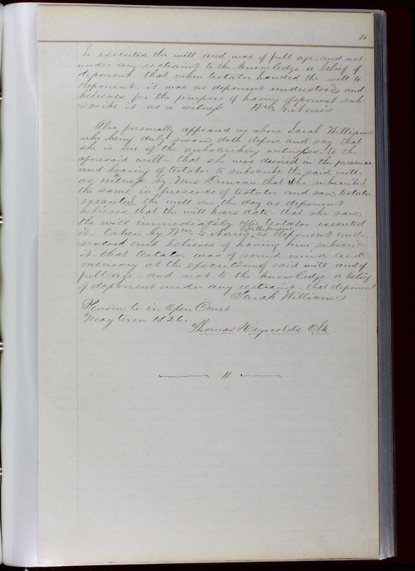 Delaware County Ohio Will Records Vol. 1 1812-1835 (p. 113)