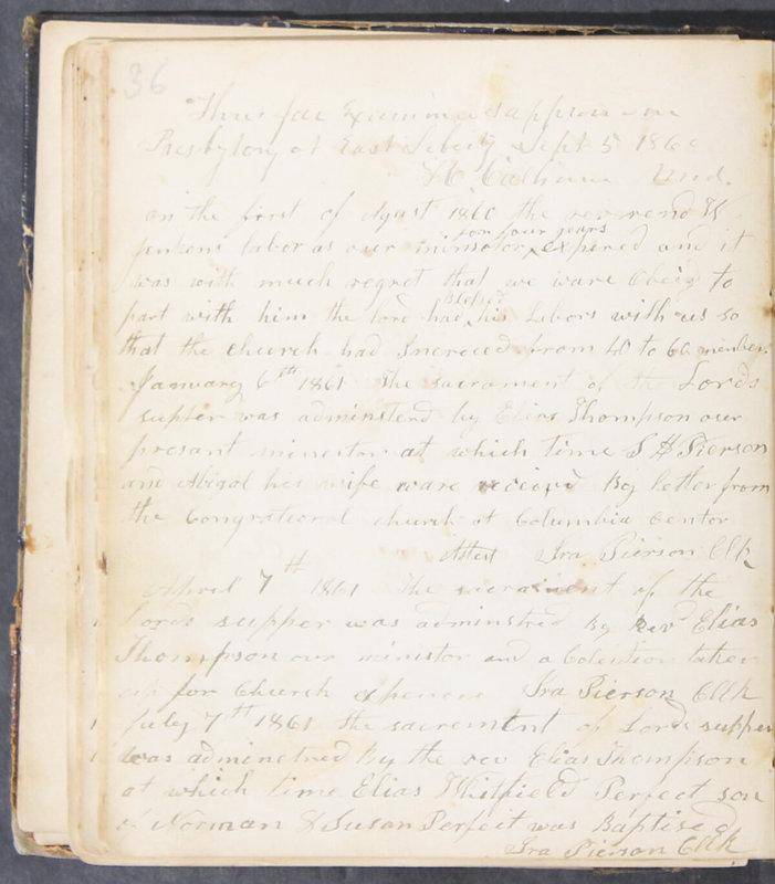 Sessional Records of the 1st Presbyterian Church of Trenton, Delaware Co., Ohio, 1831 (p. 42)