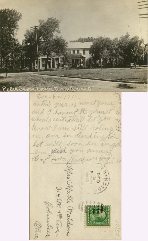 John Bricker Sr.'s Postcard Collection (p. 27)