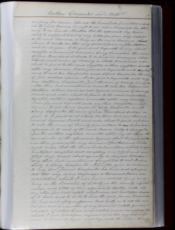Delaware County Ohio Will Records Vol. 1 1812-1835 (p. 35)