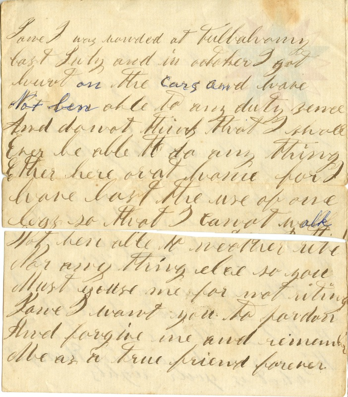 Mitchell Family Civil War Letters (p. 27)