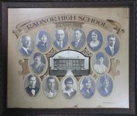 Radnor High School Senior Class Picture 1927