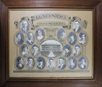 Radnor High School Senior Class Picture 1926