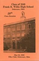 Willis High School Class of 1940 50th Reunion (p. 1)