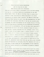The Sunbury and Galena Communities and how they were in 1938 when Sunbury Lions Club Originated (p. 1)